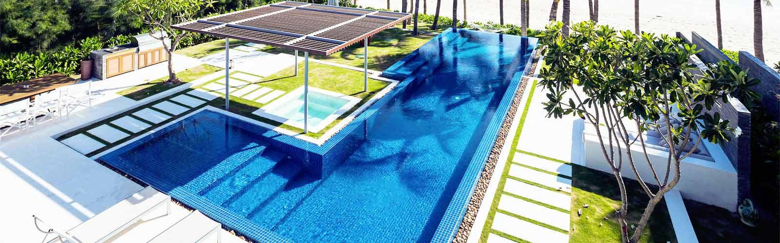 Thi công hồ bơi