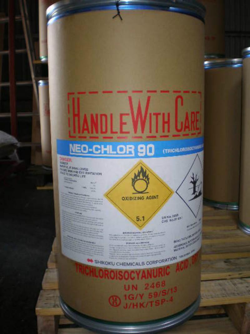 Chlorine Nhật TTCA 90% Bột