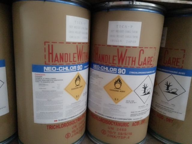 Chlorine Nhật TTCA 90% Viên 200g